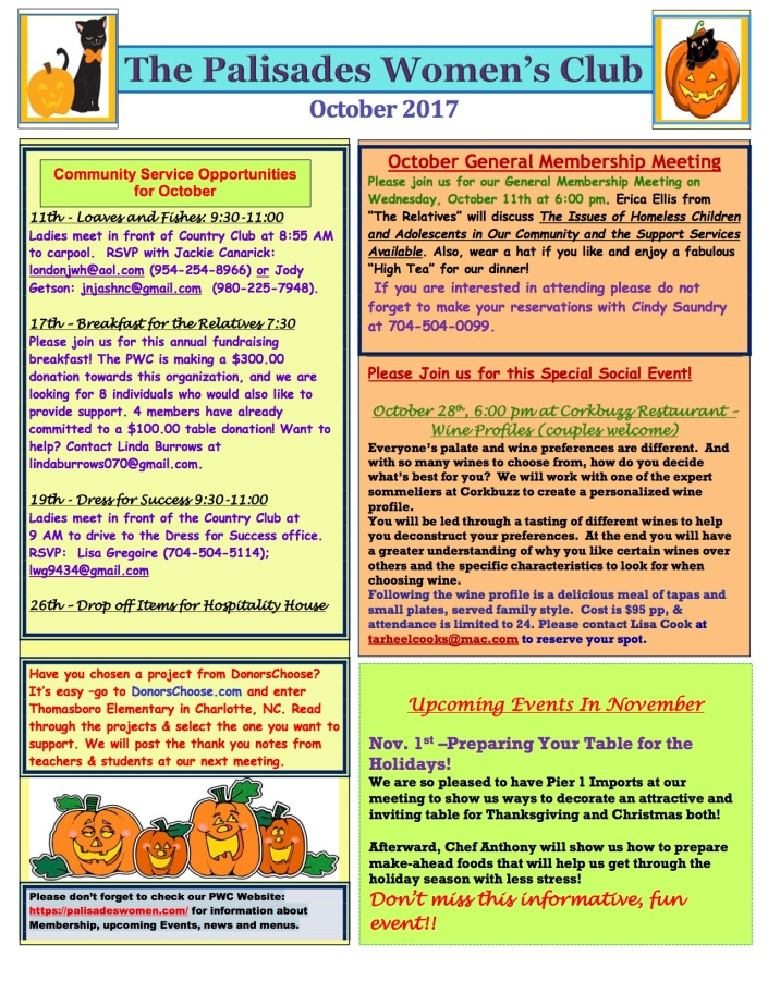 October 2017 Newsletter 3