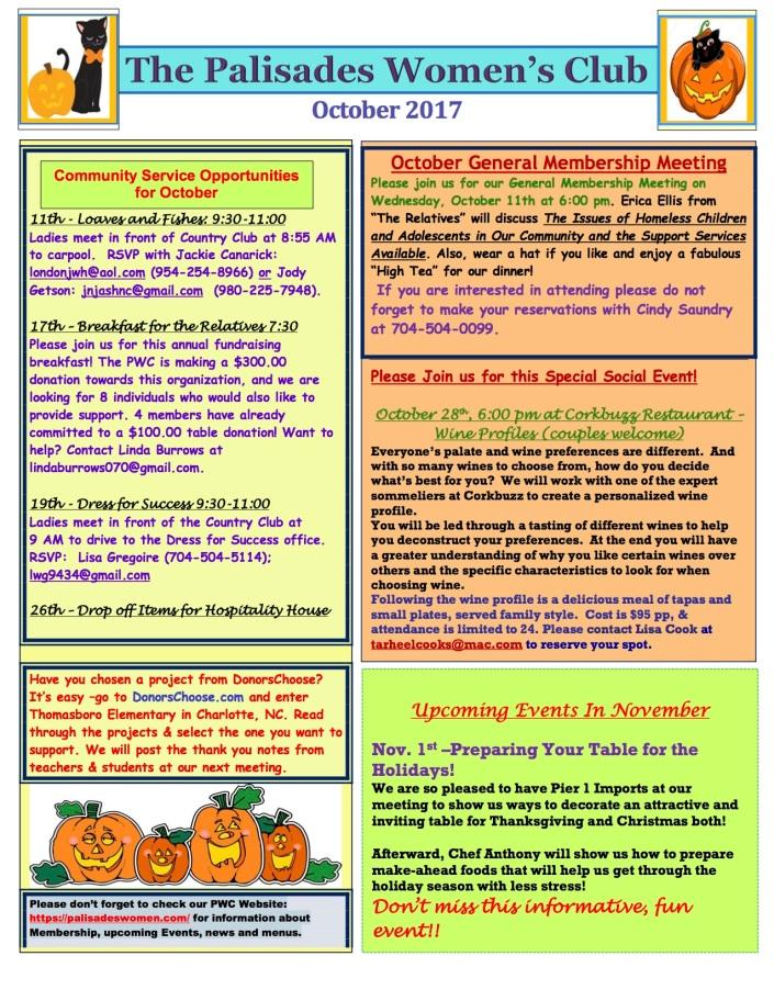 October 2017 Newsletter 3