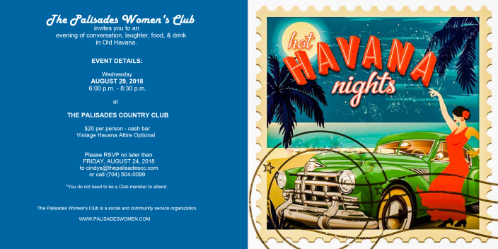 Havana nights invite