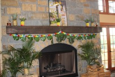 HN Fireplace decorated